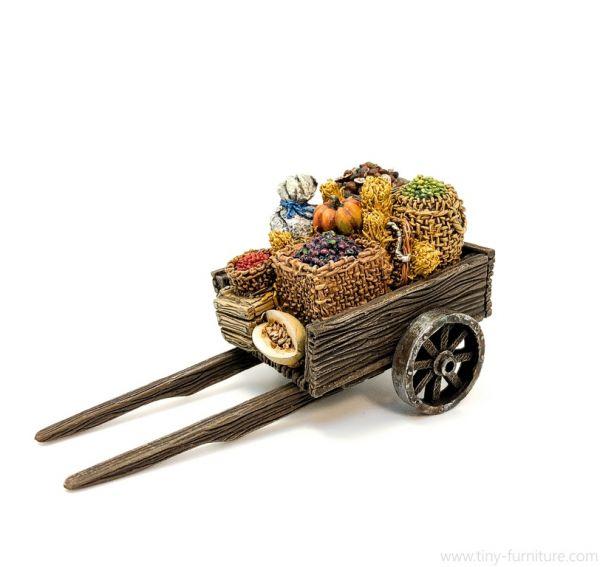 Wooden Cart / Handkarren