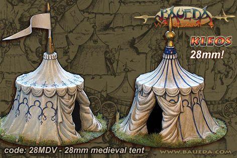 Das Zelt wird mit zwei unterscheidlichen Spitzen geliefert, die Fahne ist nicht enthalten