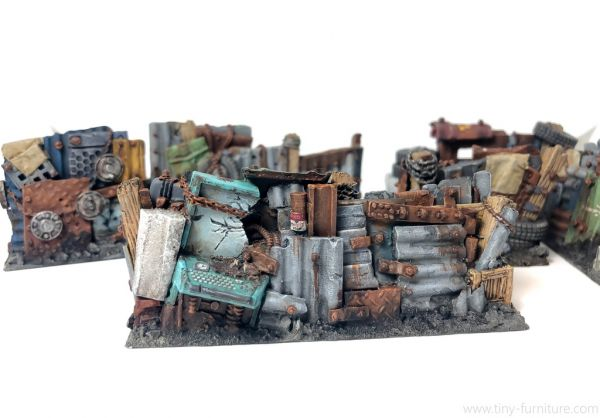 Junk Town Walls / Wasteland Mauern