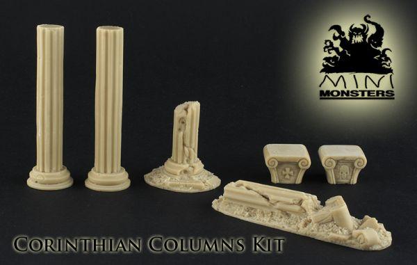Korinth Säulenset, Lieferumfang