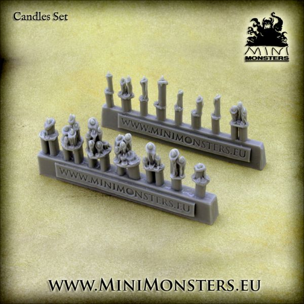 Candles / Kerzen von Minimonsters