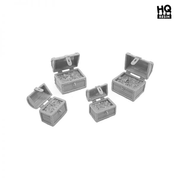 Treasure Chests Set / Schatzkisten Set