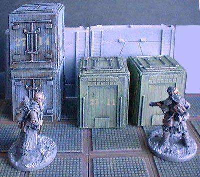 Small Box Crates x2