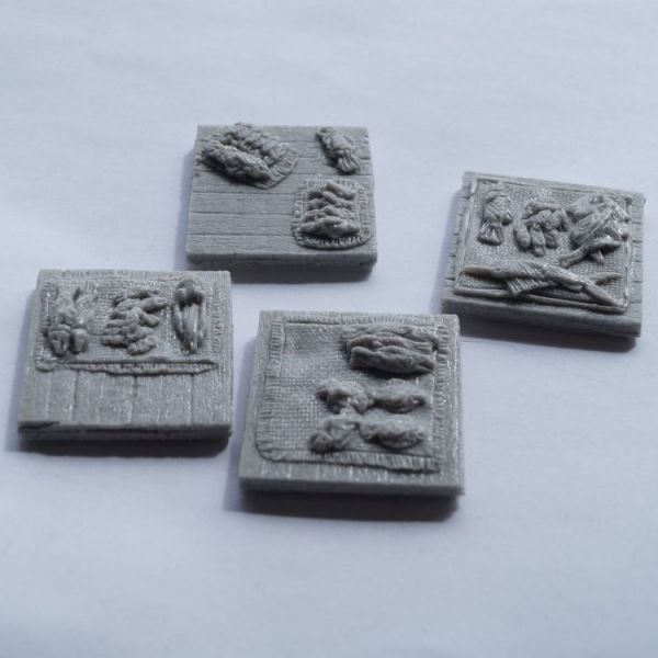 Trade Goods N Offerings on Mats