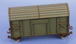 RM-343-G geschlossener Güterwaggon (K, 2, G)