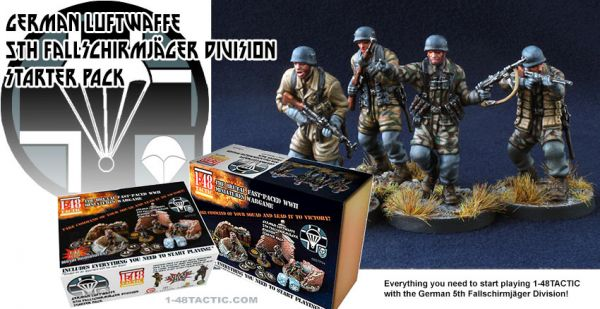 German Luftwaffe 5th Fallschirmjäger Division Starter Set