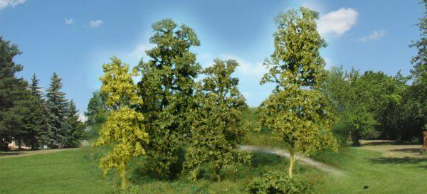 Blätterbäume und Büsche 15 Stück, hellgrün von Heki