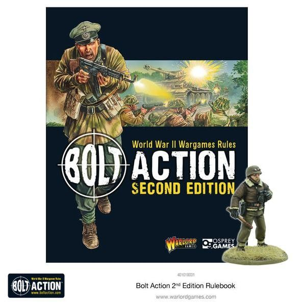 Cover des Edition 2 Regelbuches für Bolt Action