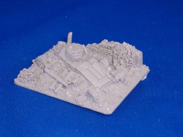 British Wrecked Matilda I (BoF) Templar's Forge / zerstörter britischer Matilda I