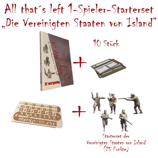 """All that´s left - 1-Spieler-Starterset """"Die Vereinigten Staaten von Island"""" (DE)"""