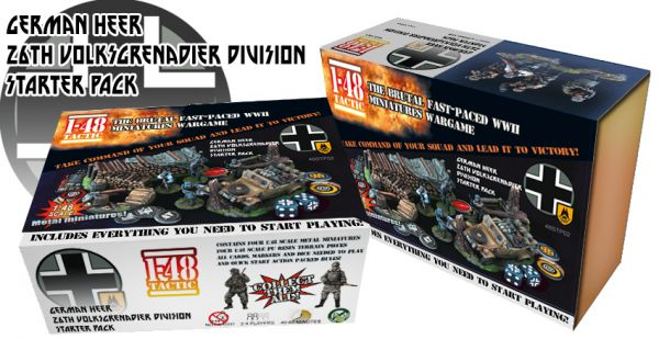 German 26th Volksgrenadier Division Starter Set