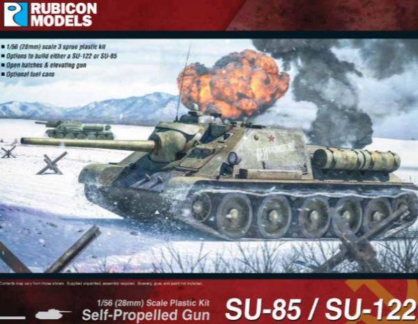 SU-122 oder SU-85 du hast die Wahl