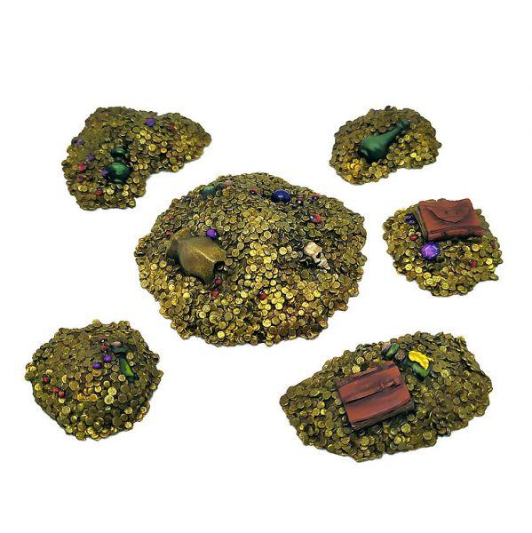 Dungeon Treasure Piles / Schatzhaufen