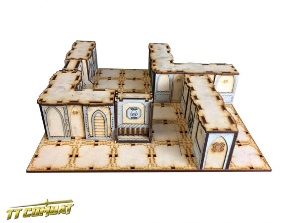 Death Quadrant - TTCombat Gaming Boards