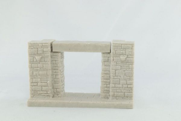 9cm Dungeon Corridor Entry with Lintels