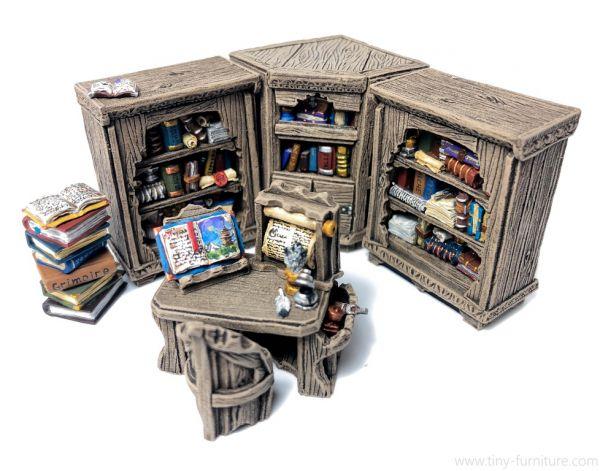 Librarian reading Corner / Leseecke des Gelehrten