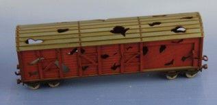RM-356-R zerstörter Güterwaggon (L, 4, R)