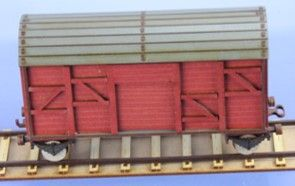 RM-343-R geschlossener Güterwaggon (K, 2, R)