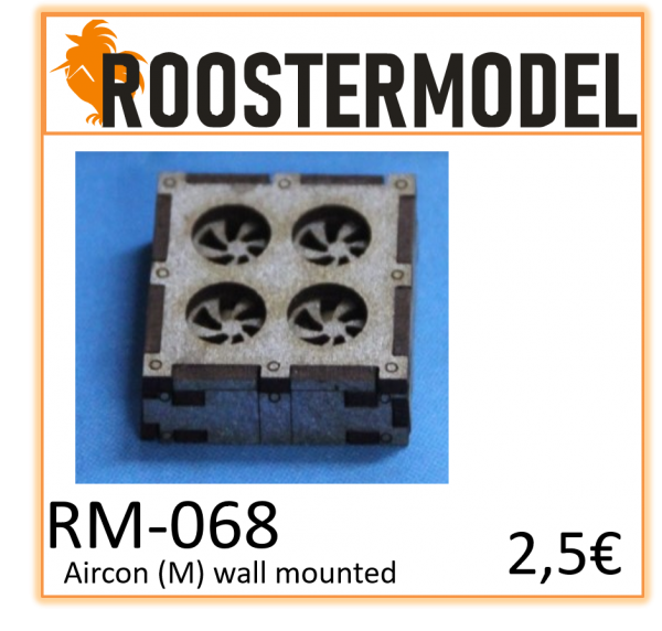 Aircon (M) wall Mounted