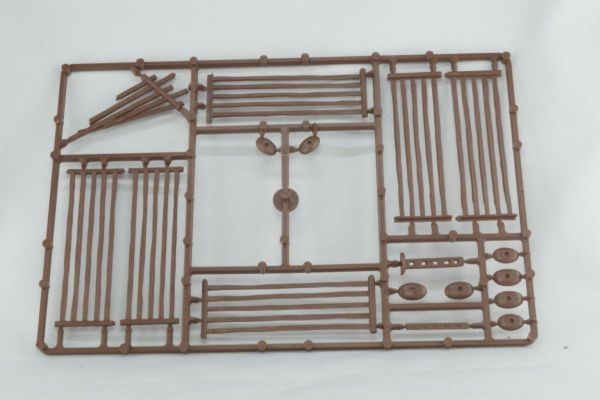 Weidezaun (braun) / 5 Bar-Fences (brown) von Renedra