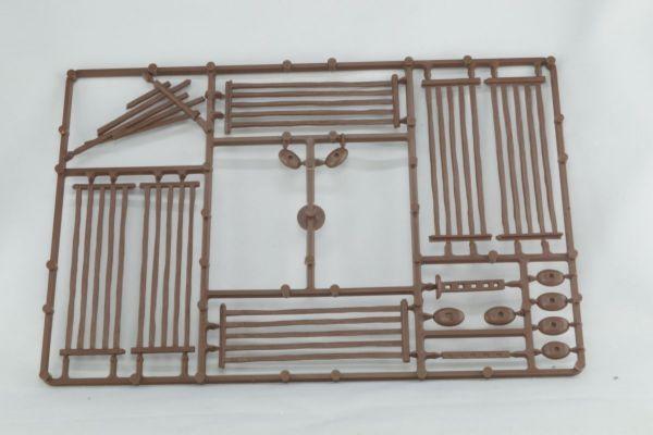 Weidezaun (braun) / 5 Bar-Fences (brown) von Renedra