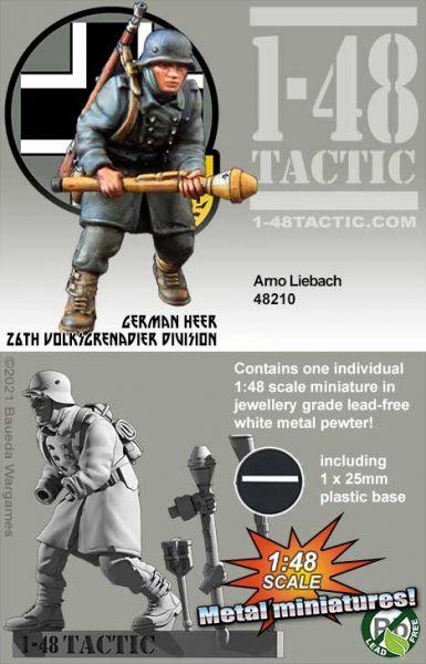 Arno Liebach - German 26th Volksgrenadier