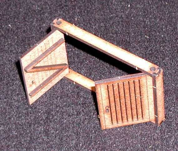 Die 2 enthaltenen Tore sind in der Zarge frei beweglich. Modulares Terra-Blocks™ Gelände von Sally 4th