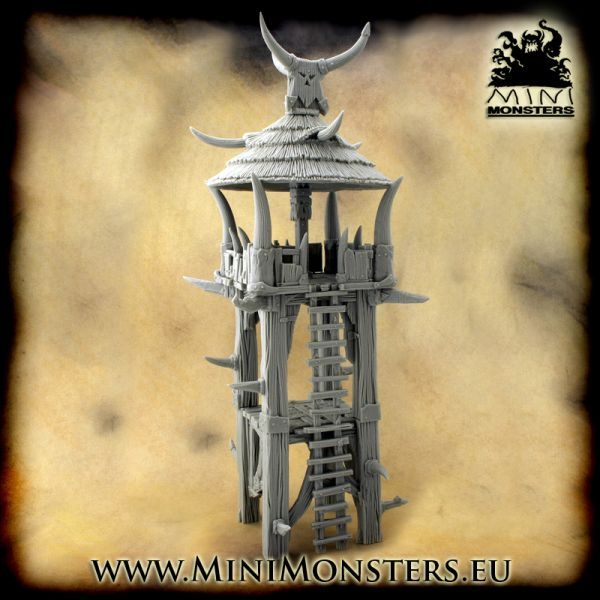 Orcs Watchtower von Minimonsters