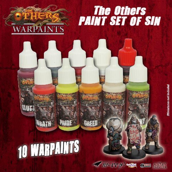 Warpaints - The Others Paint Set of Sin
