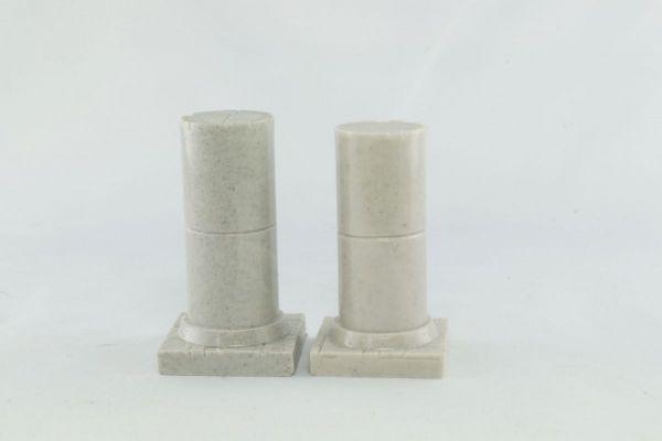 3cm Round Pillar x2