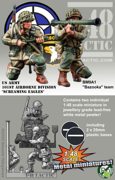 M9A1 -Bazooka- team (double pack) – US Army 101st Airborne Division