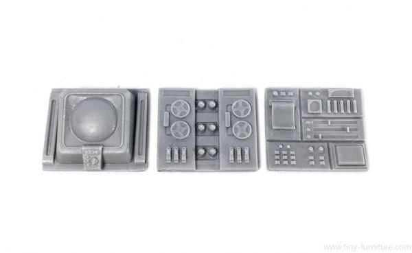 Wall-mounted Computer Panels M8 x3
