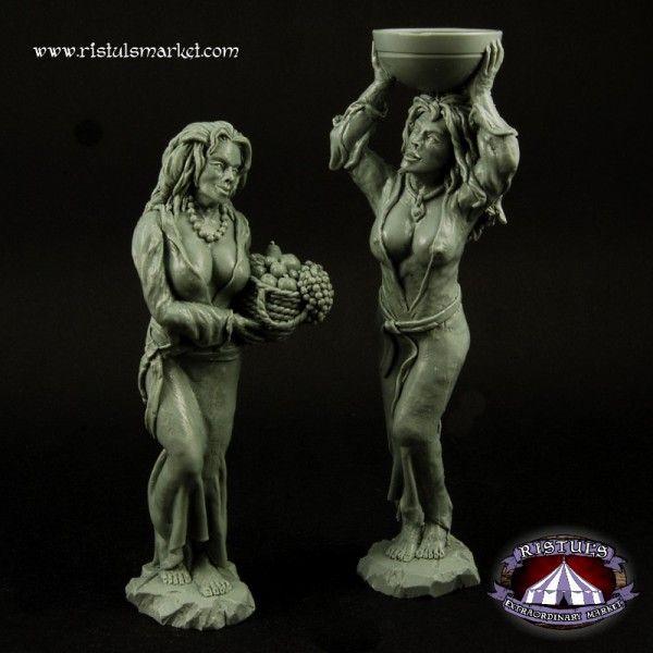 Woman Statues Terrains