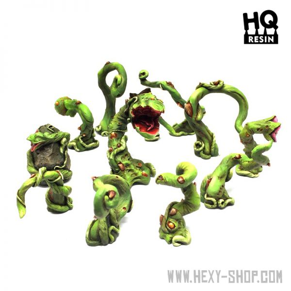 Alien Carnivorous Plants Set