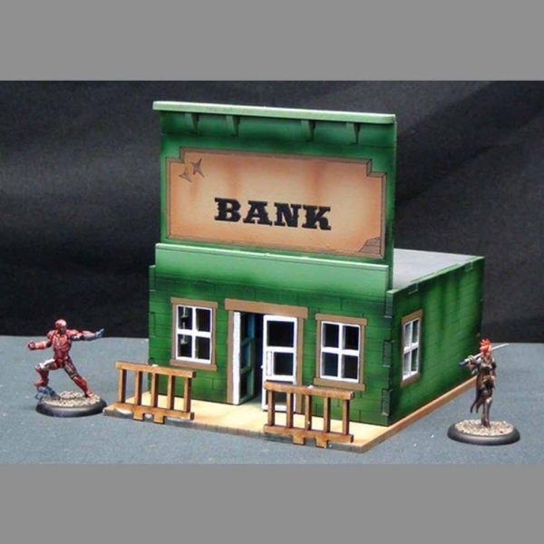 Bank - Wild West Scenics