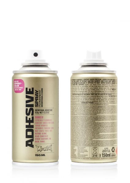 150ml Montana ADHESIVE permanent / Spray glue - Sprühkleber