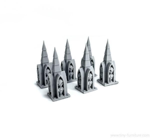 Small Column Spires v.2 / kleine Säulenspitzen v.2