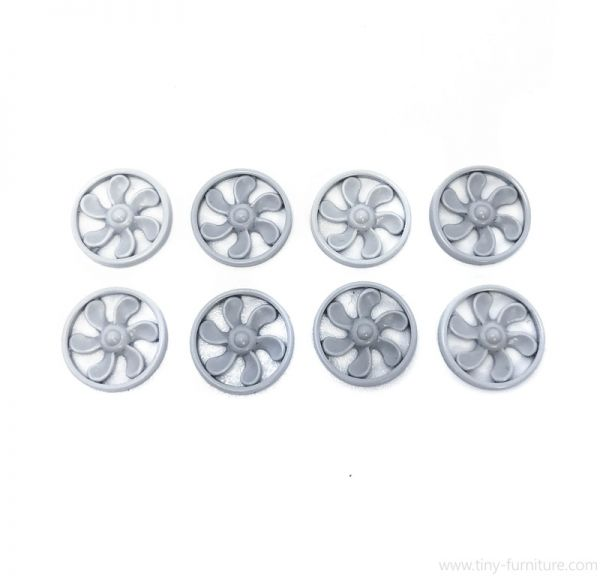 Vent fans (14mm) / Ventilatorenblätter