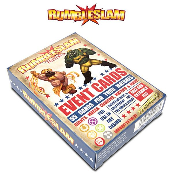 RUMBLESLAM Event Cards (EN)