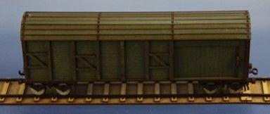 RM-353-G geschlossener Güterwaggon (L, 4, G)