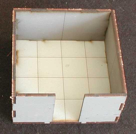 2 dieser Räume inkl. Bodenplatten sind im Lieferumfang enthalten. Modulares Terra-Blocks™ Gelände von Sally 4th