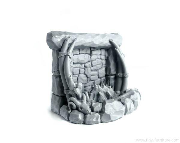 Trolls Fireplace / Troll Kamin