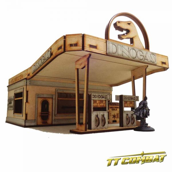 Dinogas Filling Station Deluxe - City Scenics