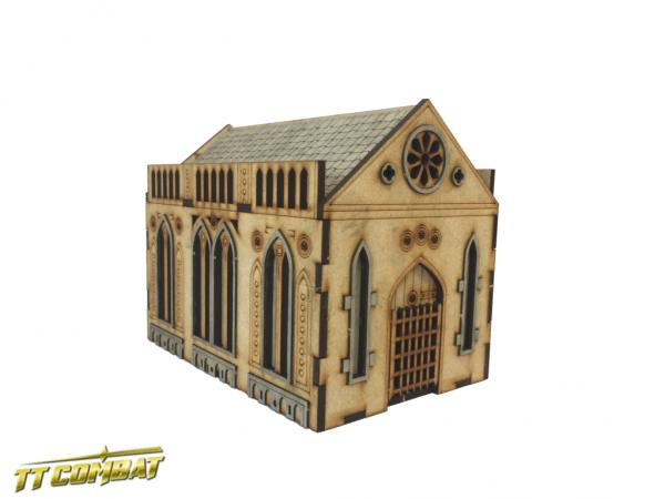 Gothic Mausoleum - Sci-Fi-Gothic Scenics