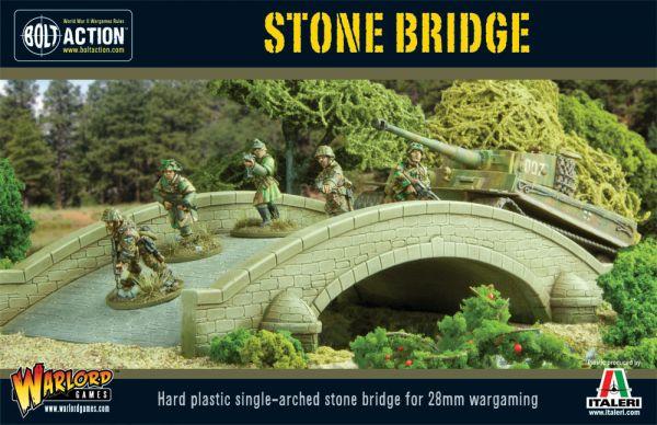 Boxcover Art der Stone Bridge von Italeri im Warlord Games Sortiment