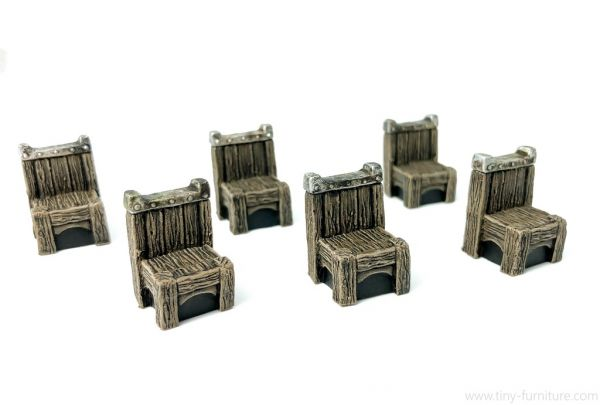 Wood Chairs / Holzstühle