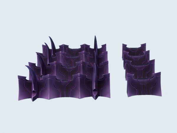 Dark Temple Fortification Set von MicroArtStudio