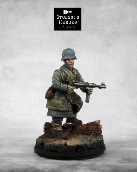 German Late War Schütze - Otto Hottenrott