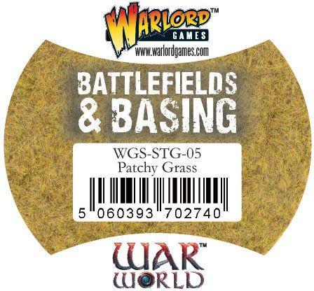 Patchy Grass von Warlord Games (Warworld)