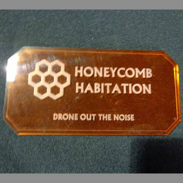 Sign J (Honeycomb Habitation) - Sci-Fi Scenics